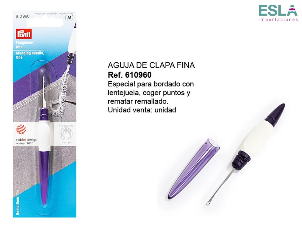 AGUJA DE CLAPA FINA 610960