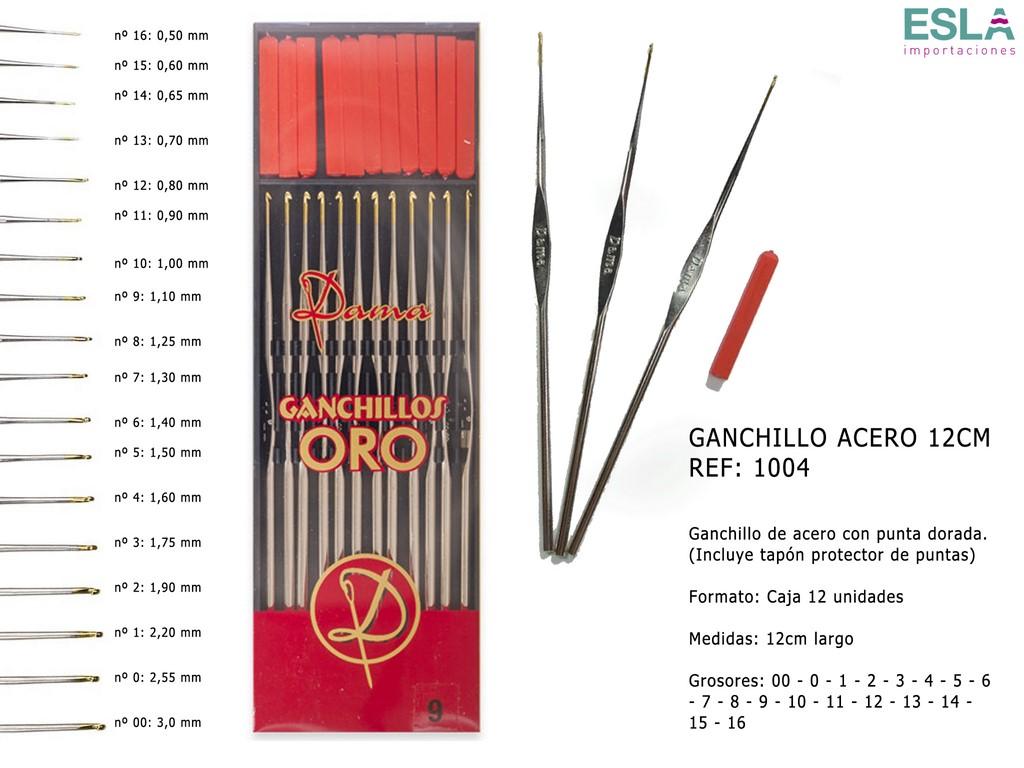 GANCHILLO ACERO DAMA 1004