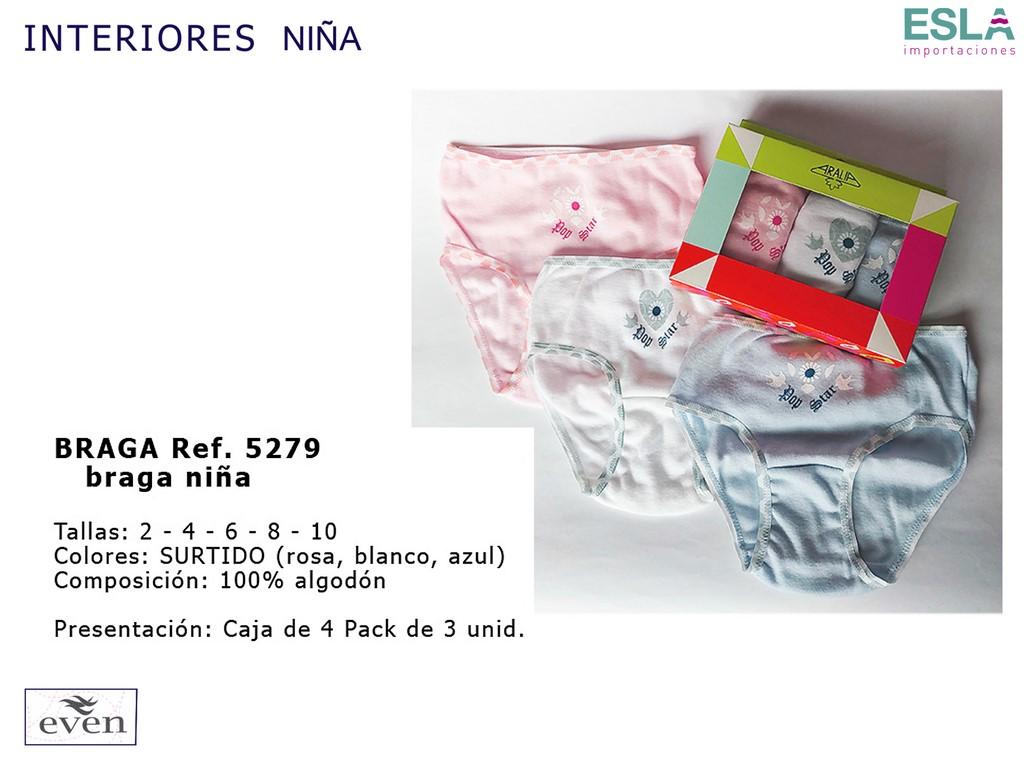 BRAGA NIÑA 5279