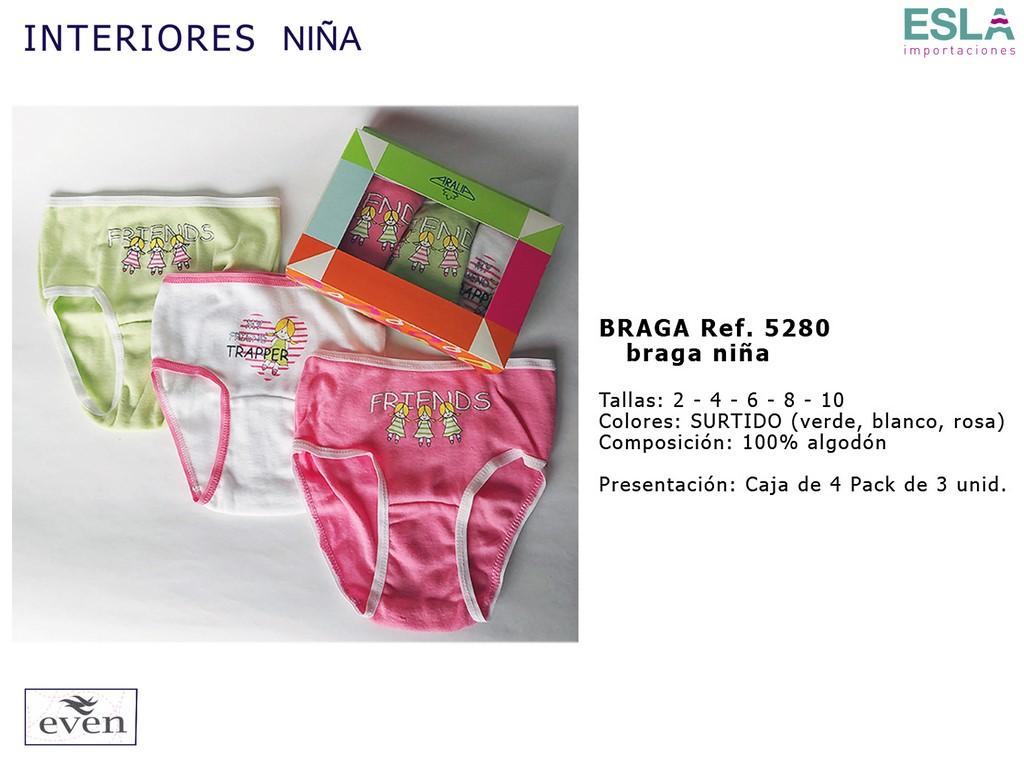 BRAGA NIÑA 5280