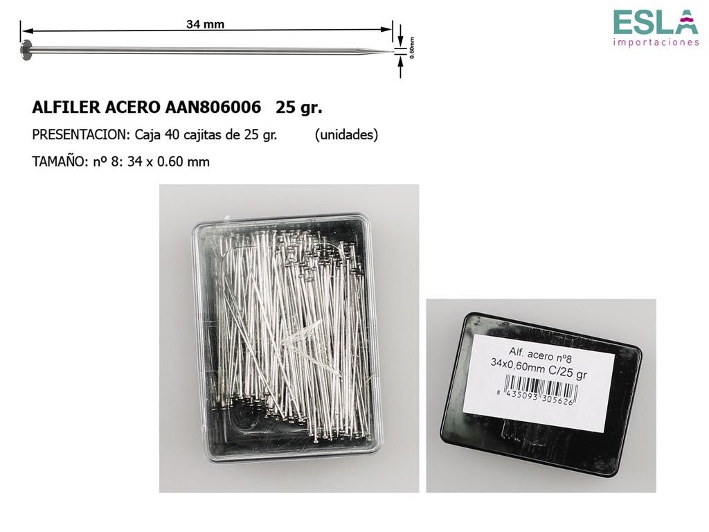 ALFILER ACERO JABALI AAN806006