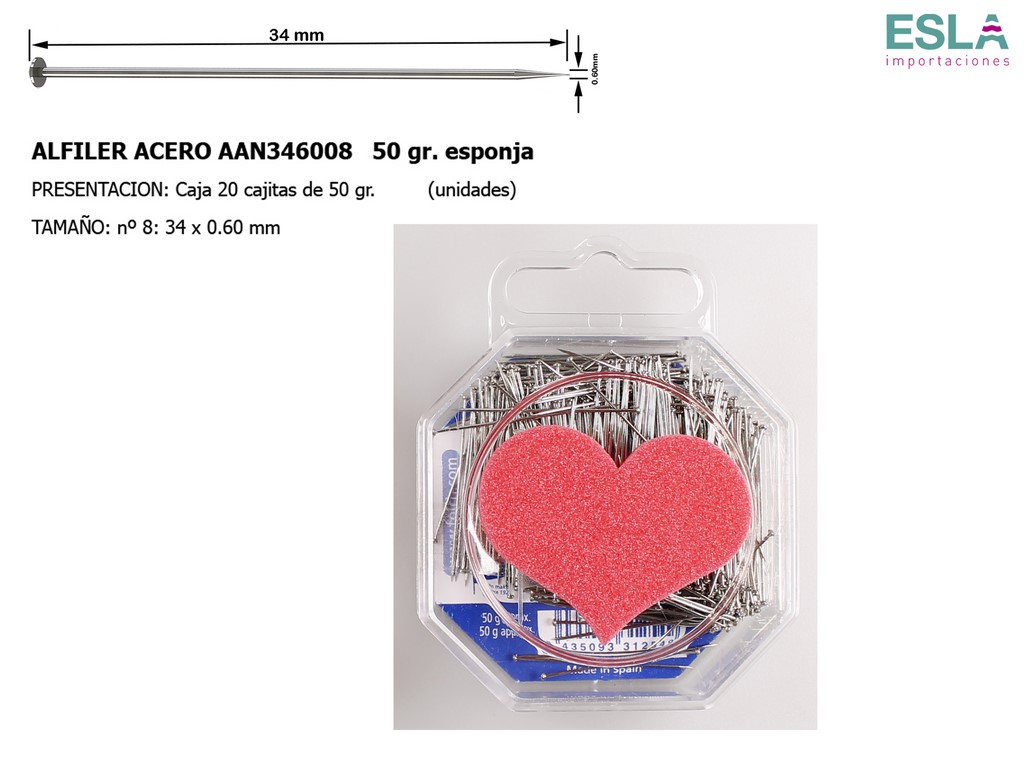 ALFILER ACERO JABALI ESPONJA AAN346008