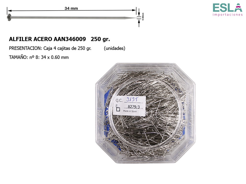 ALFILER ACERO JABALI AAN346009