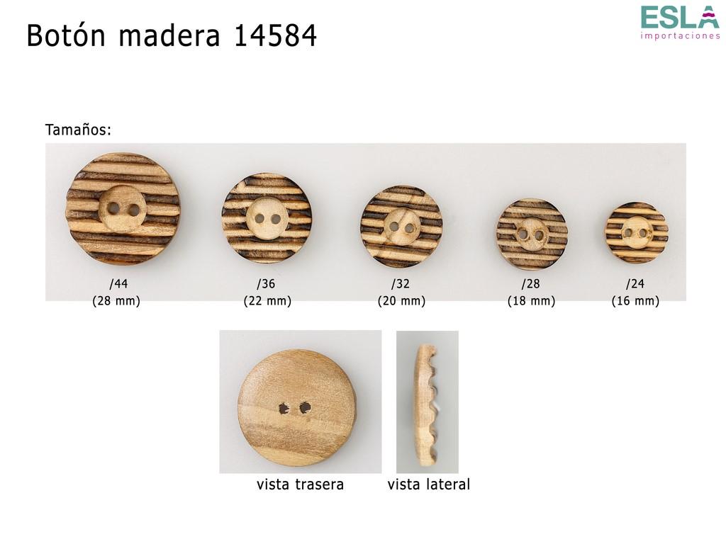 BOTON MADERA 14584