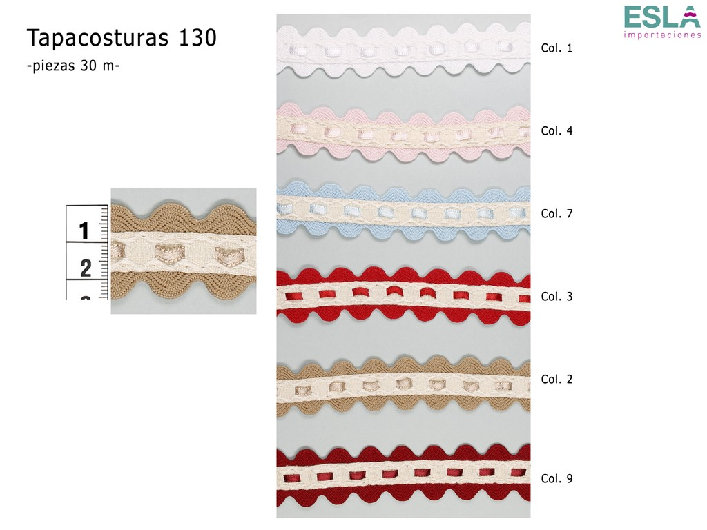 TAPACOSTURAS 130