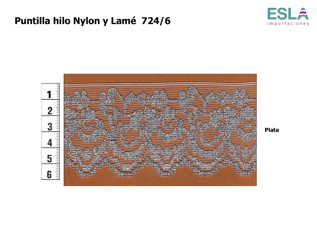 PUNTILLA NYLON LISA LAME 724