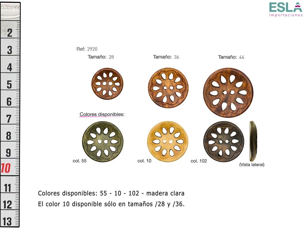 BOTON MADERA 2920