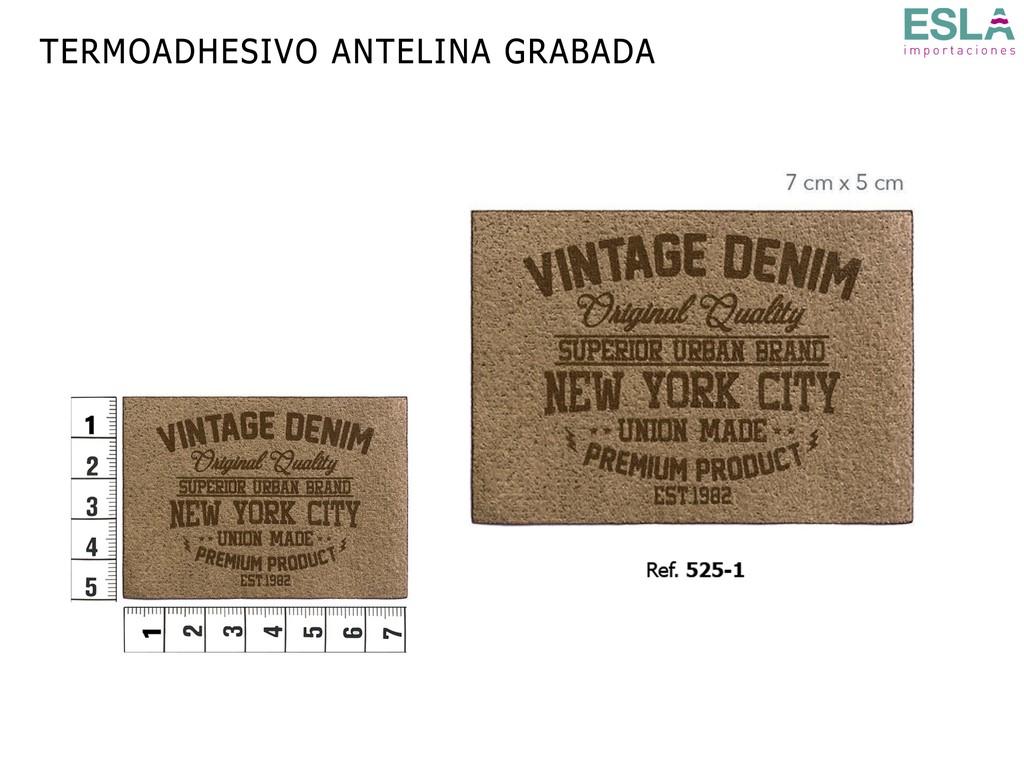 TERMOADHESIVO ANTELINA GRABADA 525-1