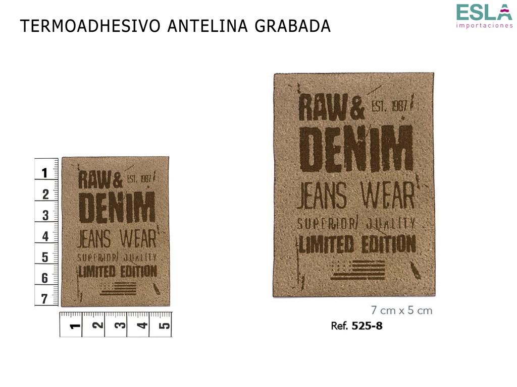 TERMOADHESIVO ANTELINA GRABADA 525-8