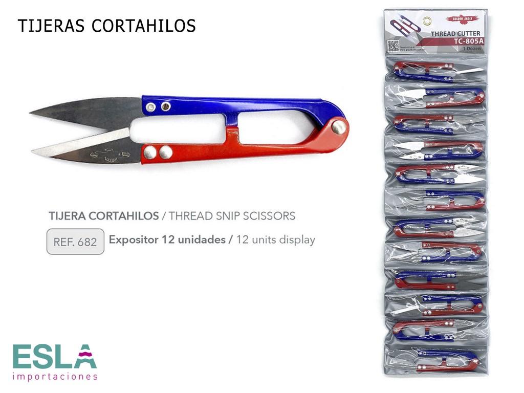 EXPOSITOR TIJERAS CORTAHILOS 682