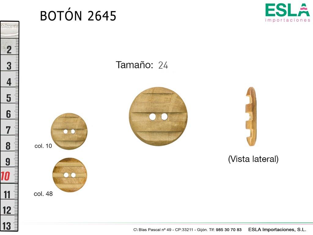 BOTON MADERA 2645