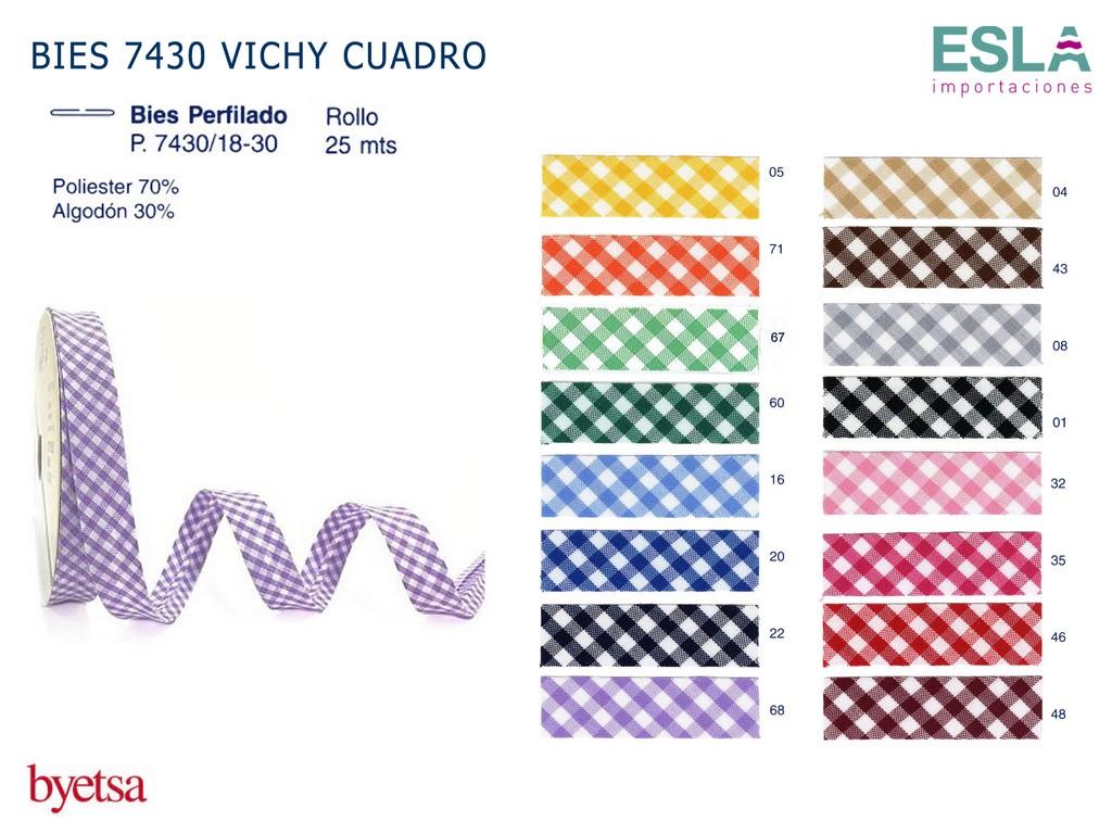 BIES 7430 VICHY CUADRO