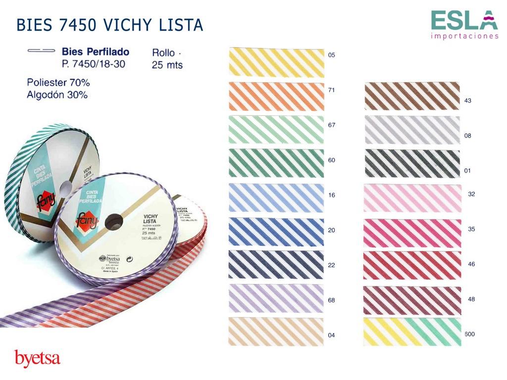 BIES 7450 VICHY LISTA