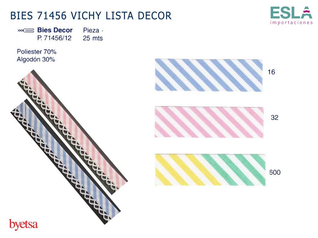 BIES 71456 VICHY LISTA DECOR