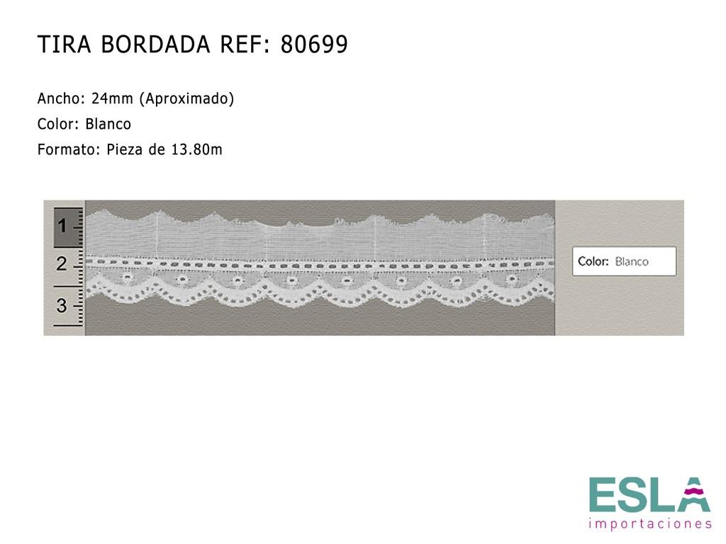TIRA BORDADA 80699