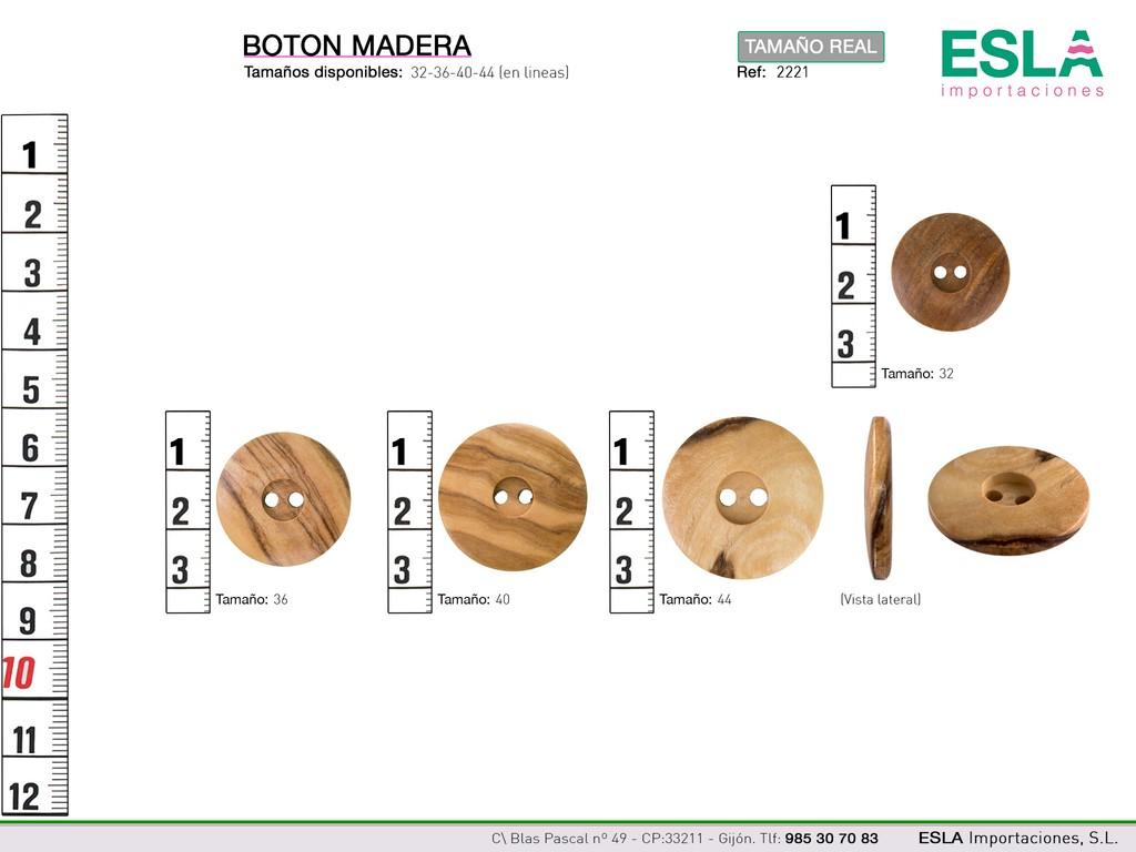 BOTON MADERA 2221