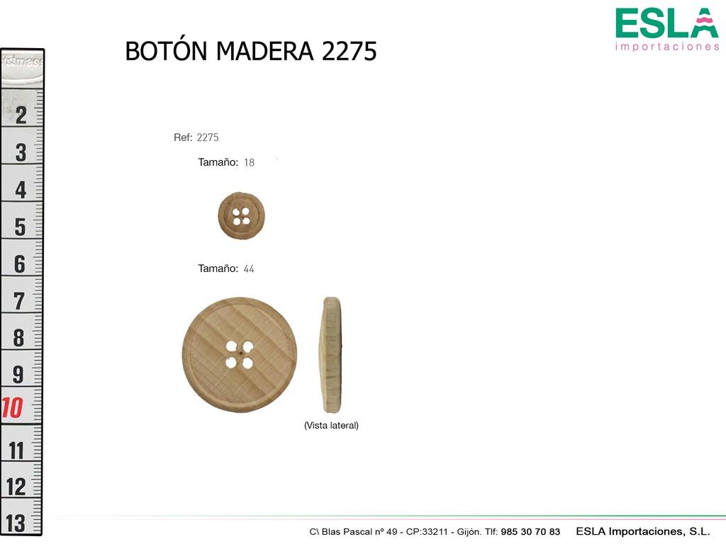 BOTON MADERA 2275