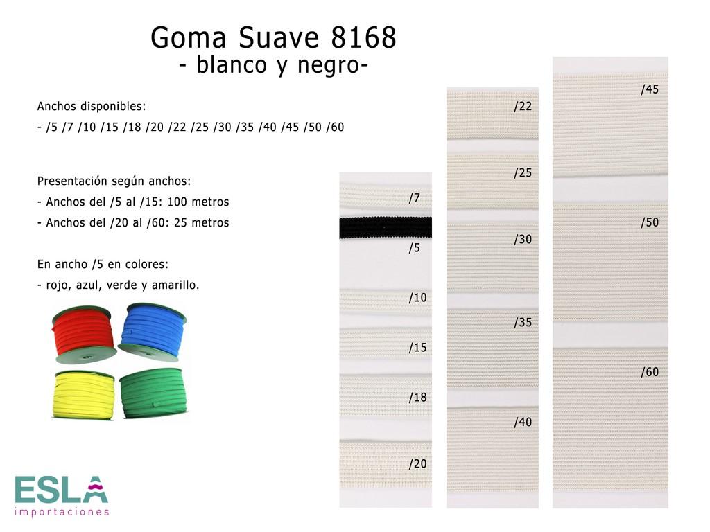GOMA SUAVE 8168