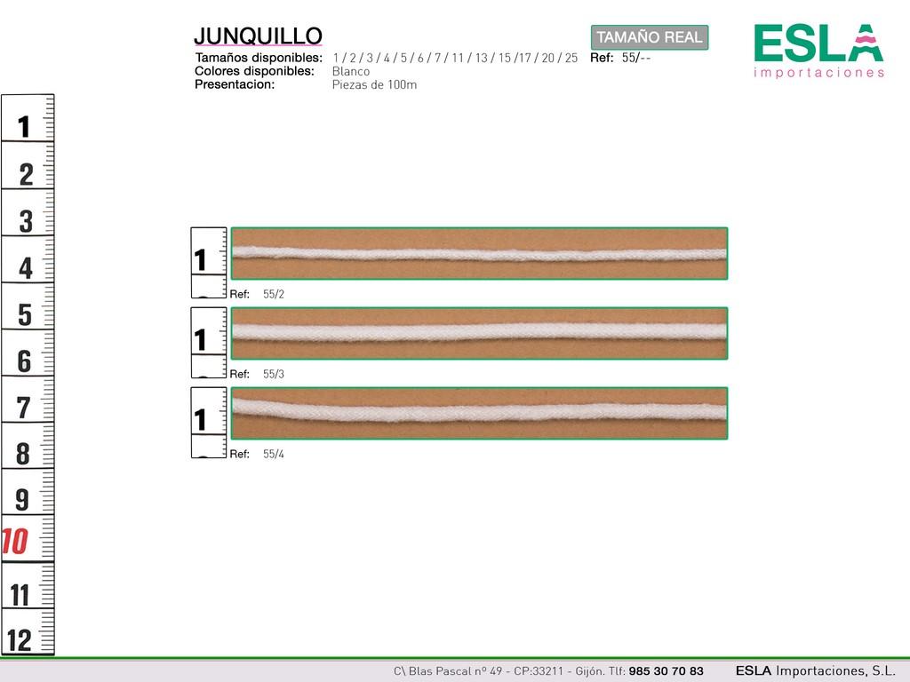 JUNQUILLO 55 ANCHOS 2-3-4