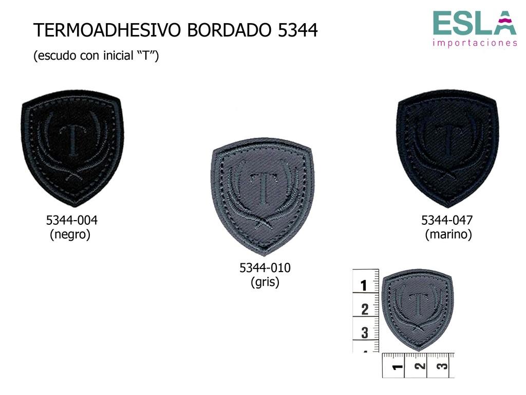 TERMOADHESIVO BORDADO 5344