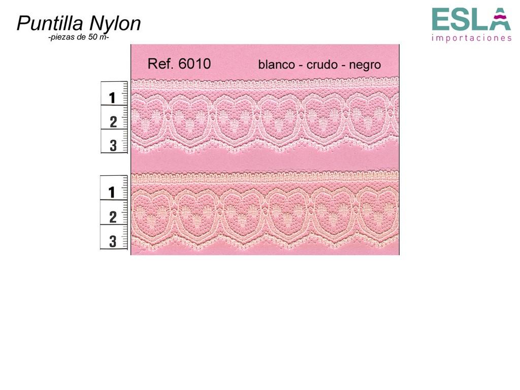 PUNTILLA NYLON LISA 6010