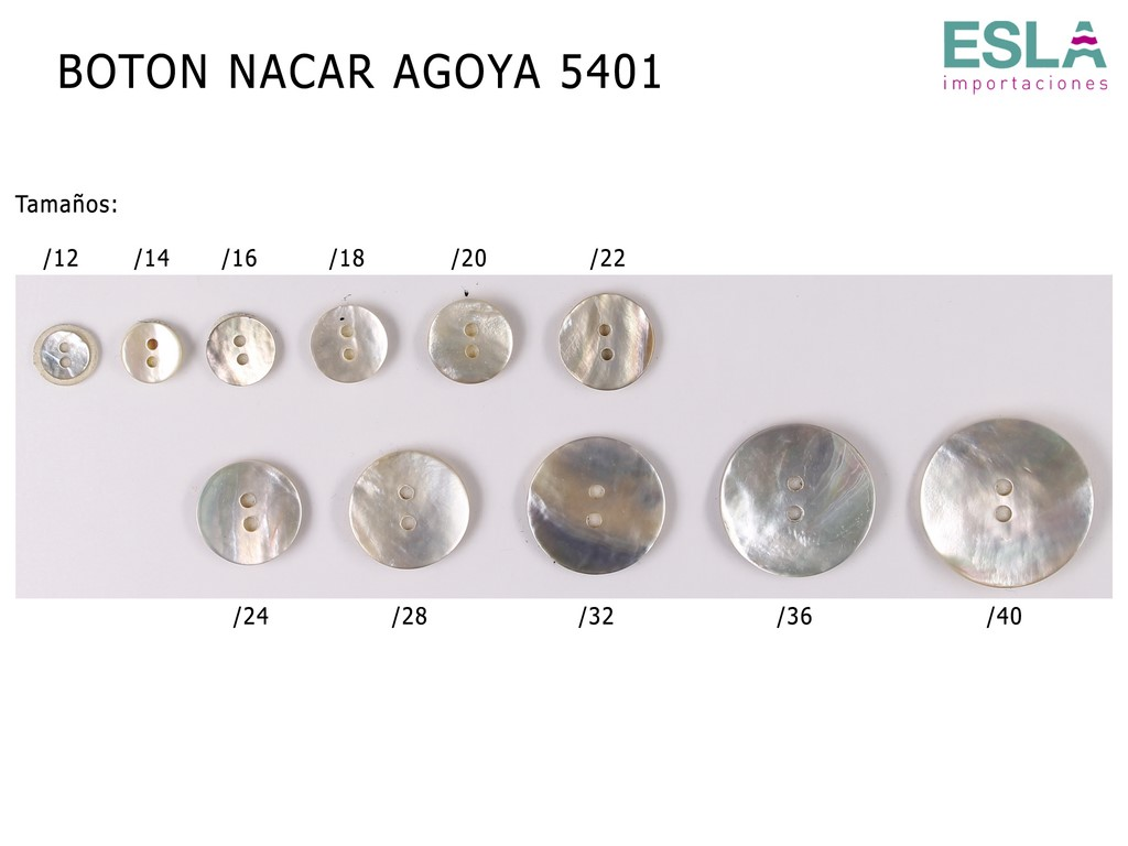 BOTON NACAR AGOYA 5401