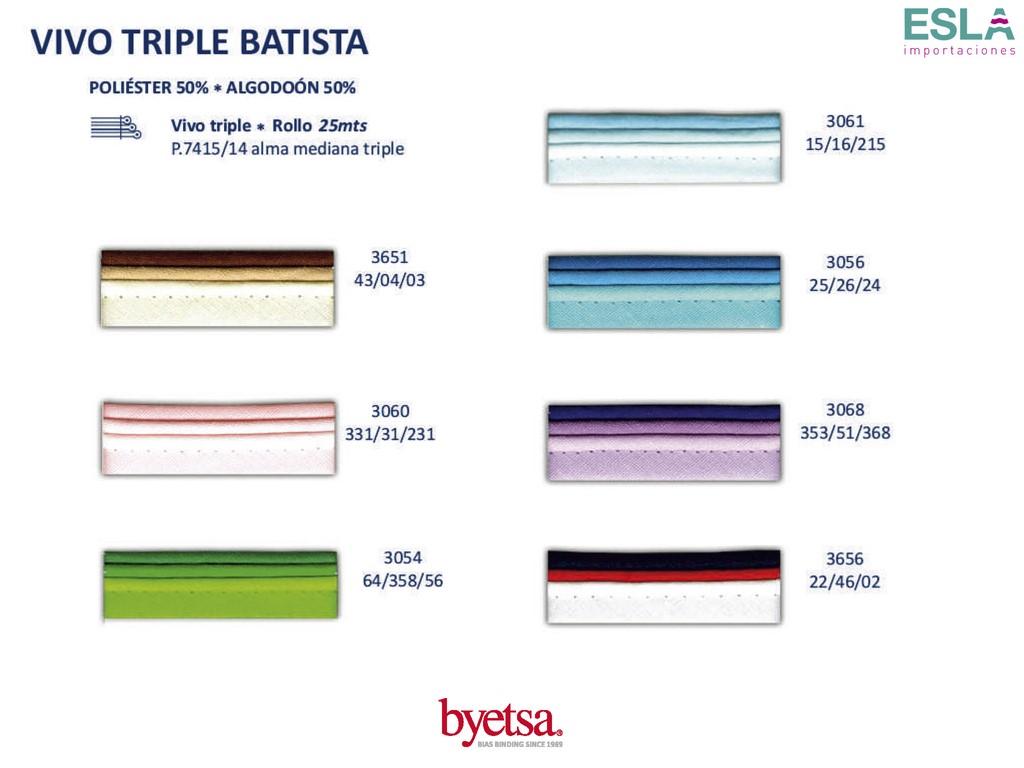 VIVO TRIPLE BATISTA 7415