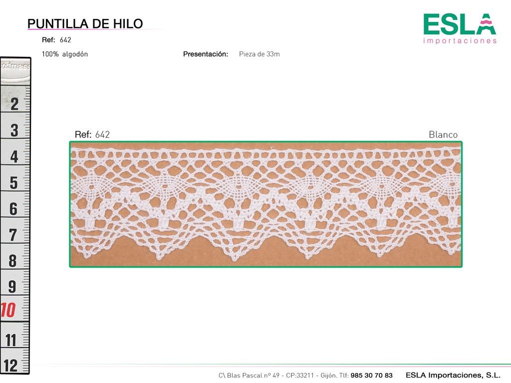PUNTILLA HILO 642