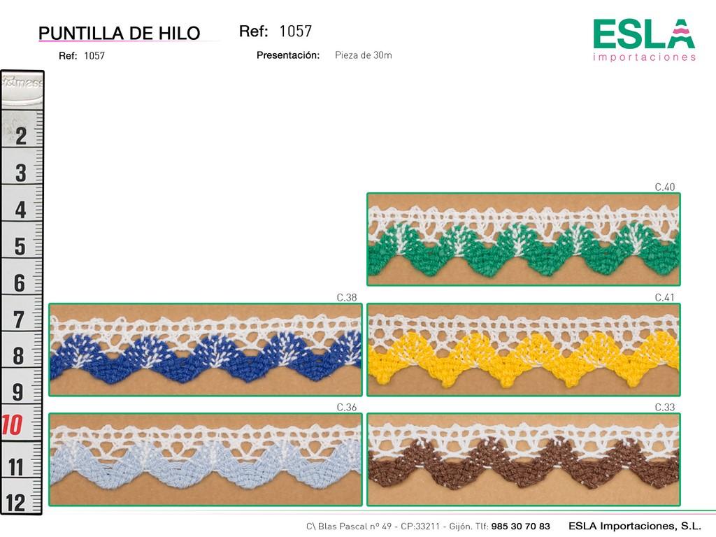 PUNTILLA HILO 1057