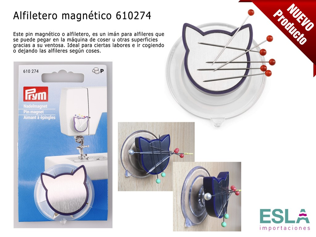 ALFILETERO MAGNETICO 610274
