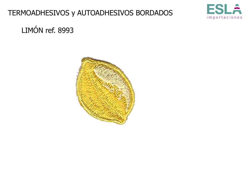 TERMOADHESIVO BORDADO LIMON 8993