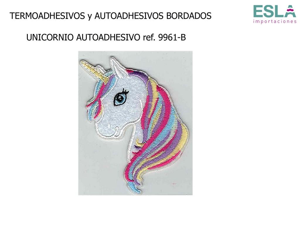 TERMOADHESIVO BORDADO UNICORNIO 9961-B