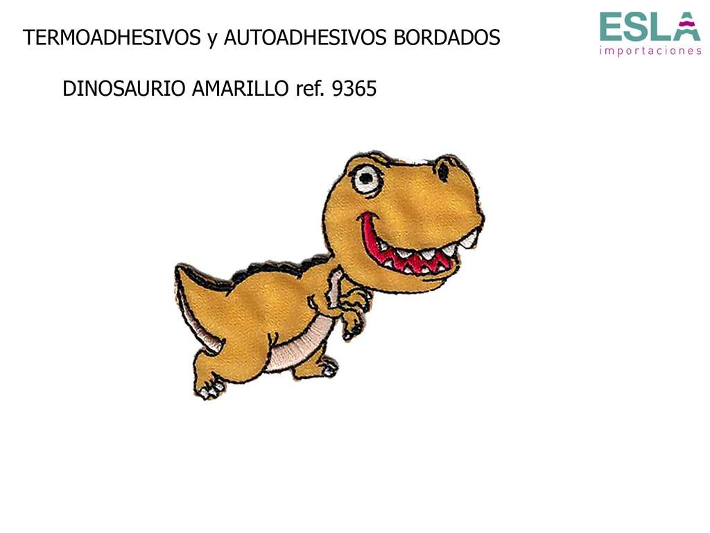 TERMOADHESIVO BORDADO DINOSAURIO 9365