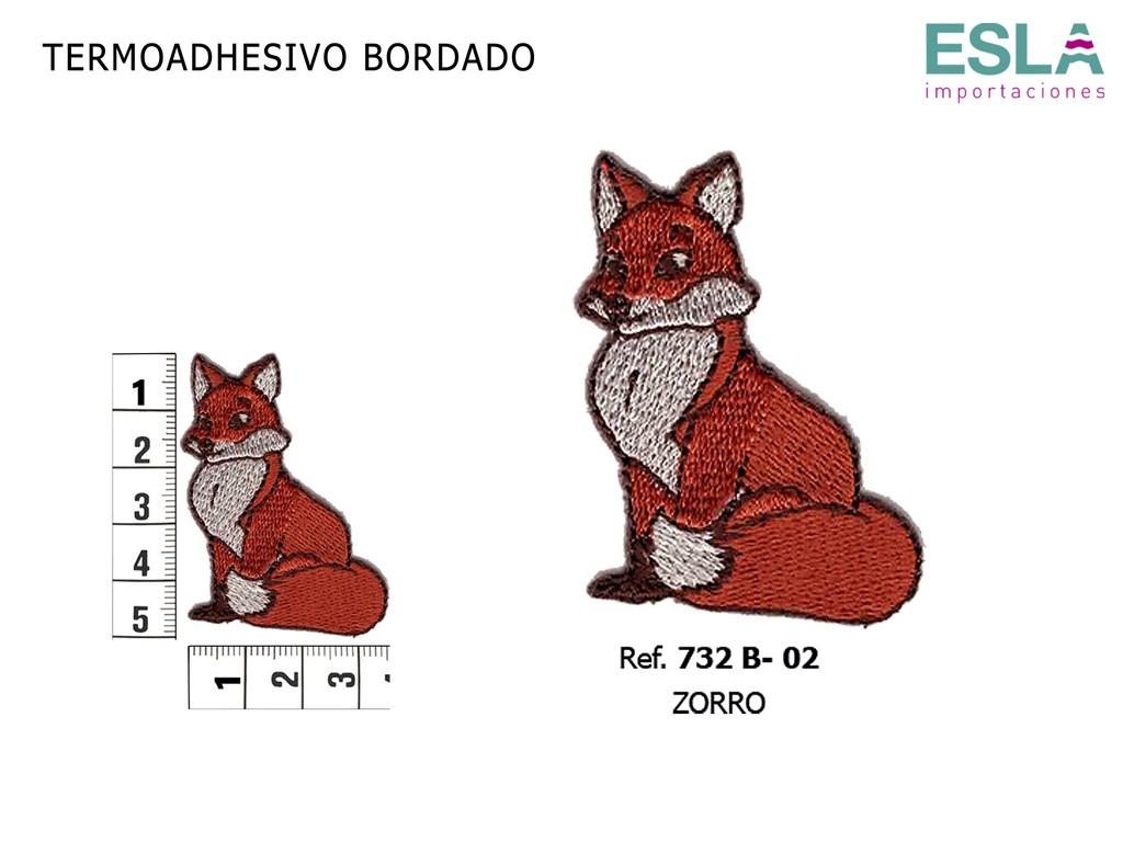TERMOADHESIVO BORDADO ZORRO 732B-02