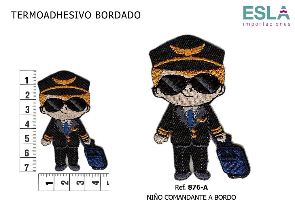 TERMOADHESIVO BORDADO COMANDANTE 876-A