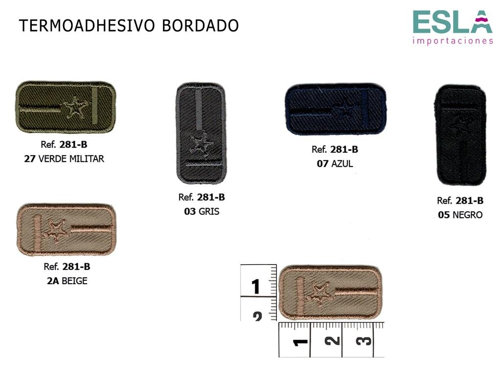 TERMOADHESIVO BORDADO ESTRELLA 281-B